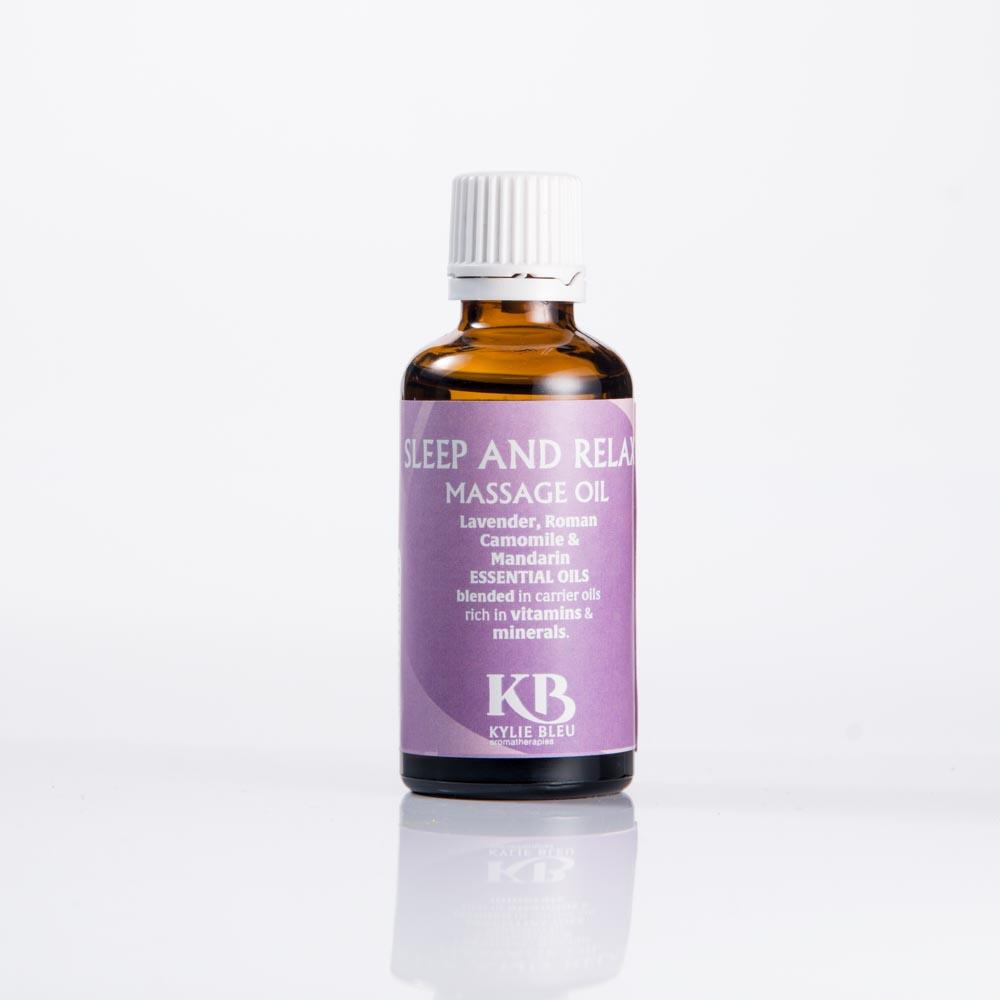 Sleep & Relax Massage Oil
