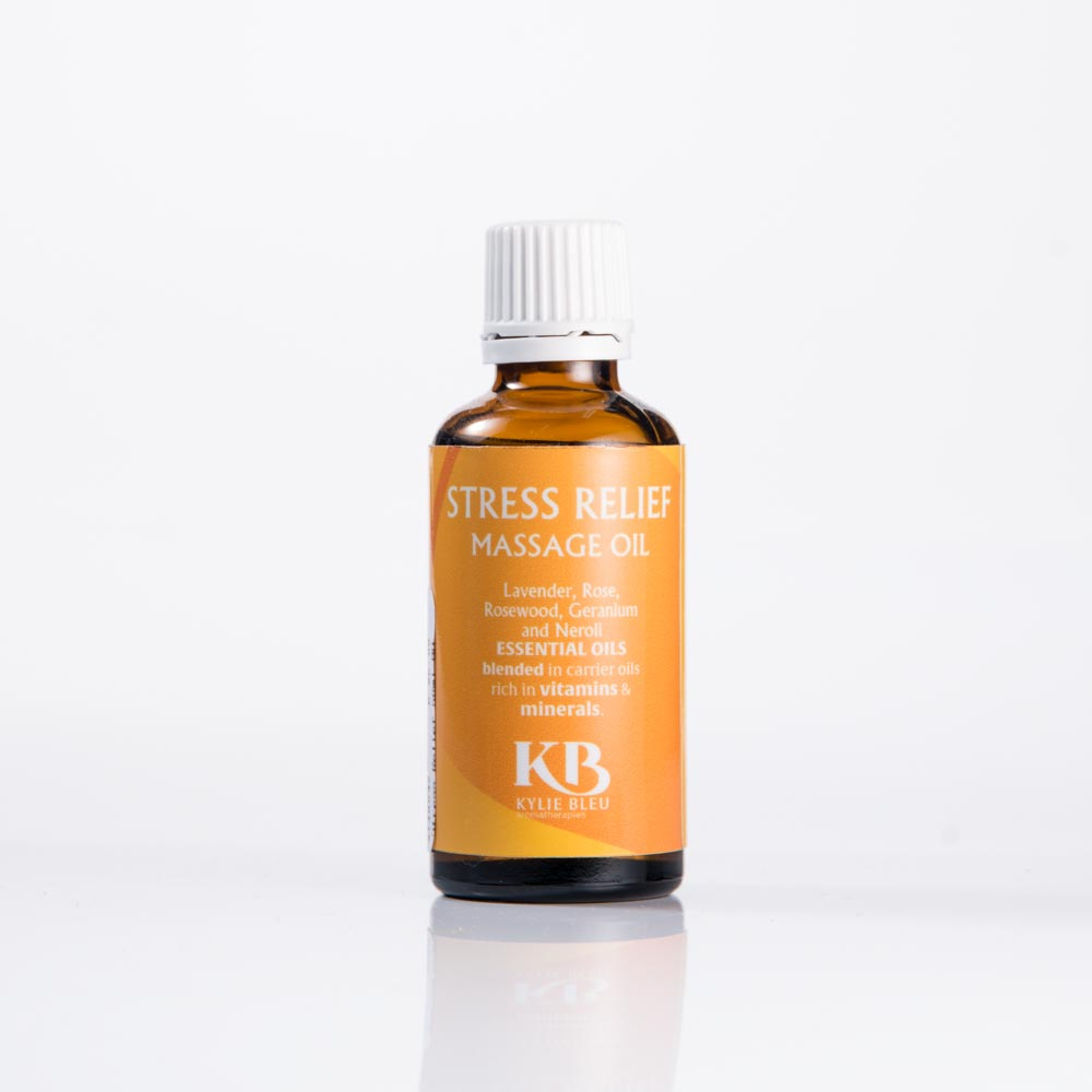 stress relief massage oil