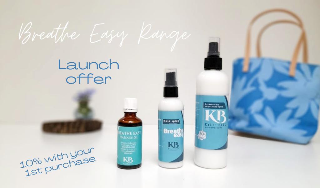 Breathe Easy Range - Sanitise your mask - eucalyptus