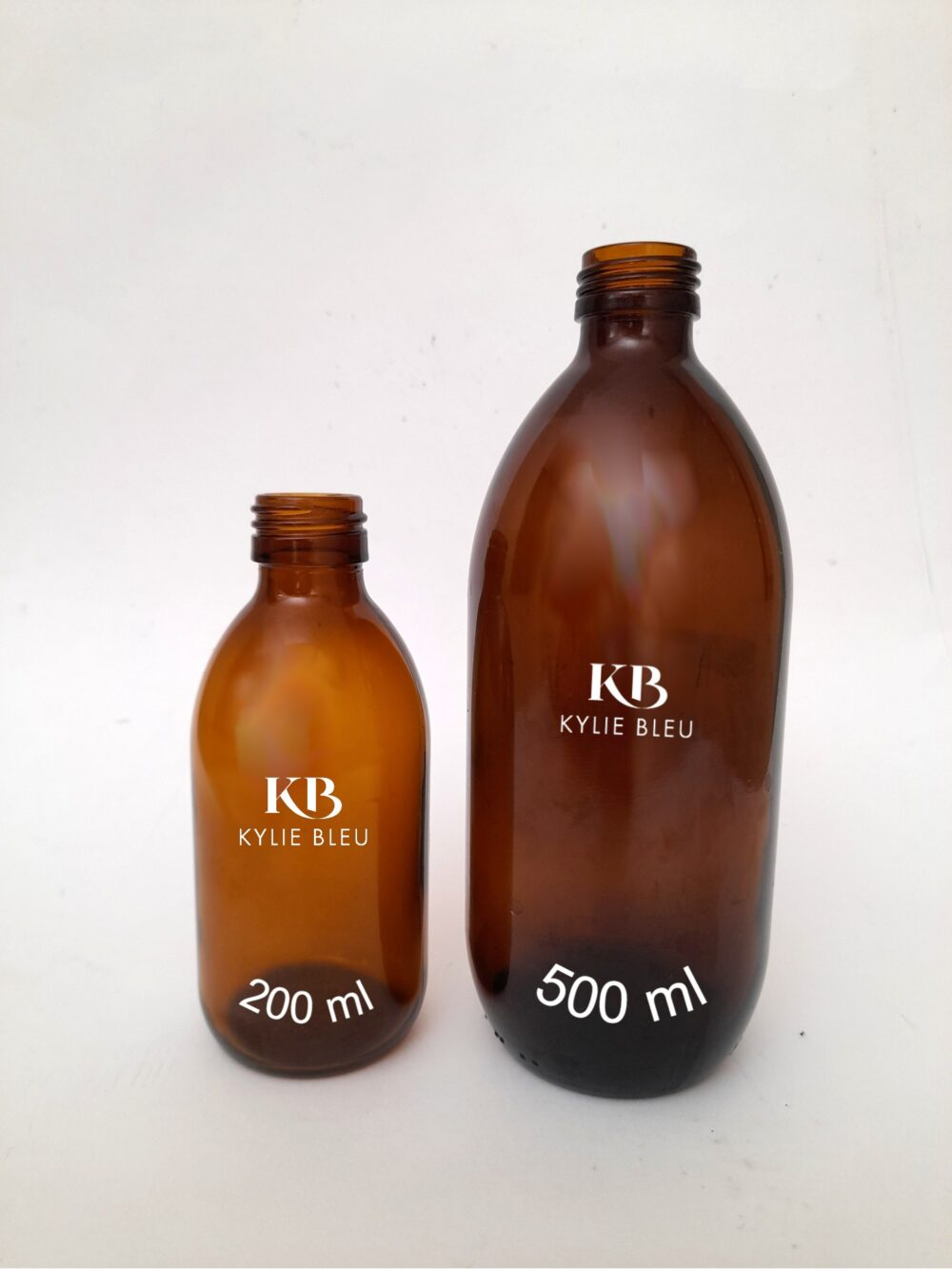 Carrier Oil bottles - 200ml and 500ml